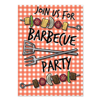 Summer Time BBQ Party Invitation