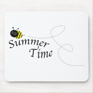 Summer Time Bee Mouse Pad