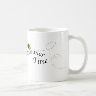 Summer Time Bee Classic White Coffee Mug