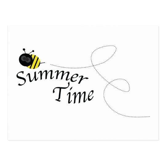 Summer Time Bee Postcard