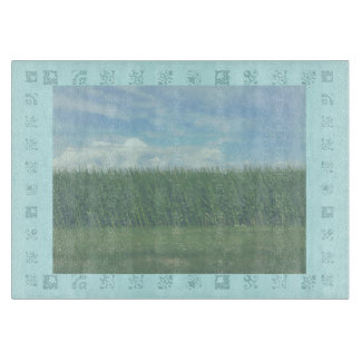 Summer Time Cornfields Cutting Board