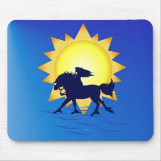 Summer Time Horse Mousepad