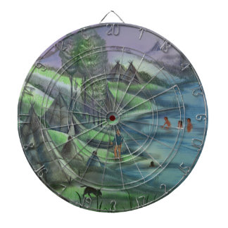 summer time in the valley dartboard