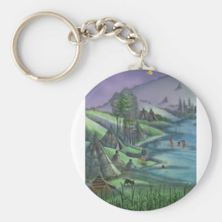 summer time in the valley key chain