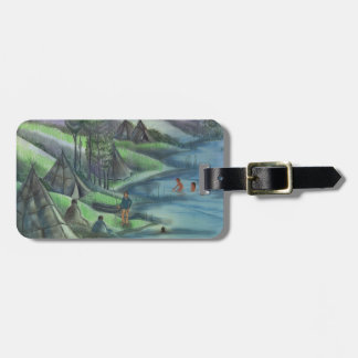 summer time in the valley luggage tags