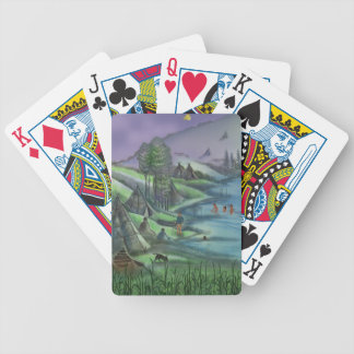 summer time in the valley playing cards