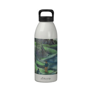 summer time in the valley drinking bottle