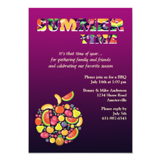 Summer Time Invitation