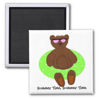 Summer Time Refrigerator Magnets
