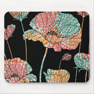 Summer Time Poppies Mouse Pad