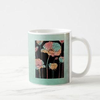 Summer Time Poppies Coffee Mug