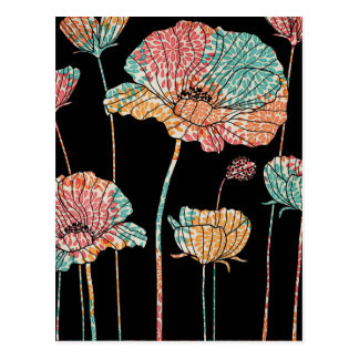 Summer Time Poppies Postcard