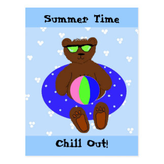 Summer Time Postcard