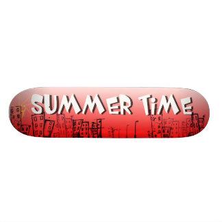 Summer Time Skateboard