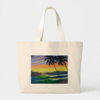 summer-time-sunset-west-mau tote bags
