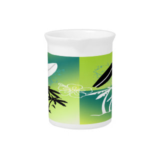 Summer Time Theme Pitcher