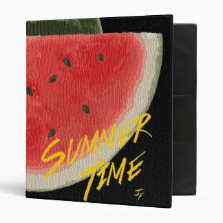 Summer time- watermelon binder