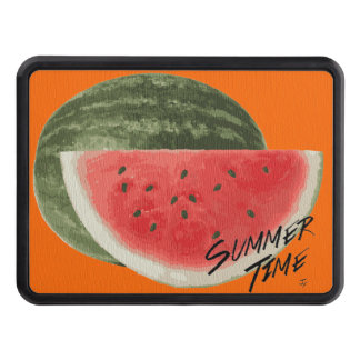 Summer time- watermelon hitch cover
