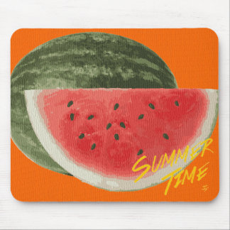Summer time- watermelon mouse pad