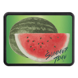 Summer time- watermelon trailer hitch cover