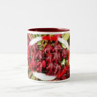Summer to autumn Two-Tone coffee mug
