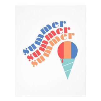 Summer Treat Letterhead