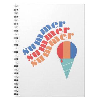 Summer Treat Spiral Notebooks