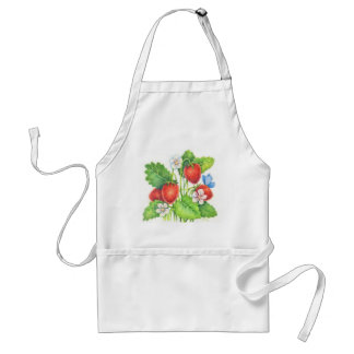 Summer Treat - Strawberry Apron