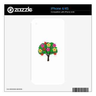 SUMMER TREE iPhone 4S SKINS