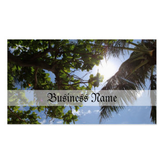 Summer Trees Business Card