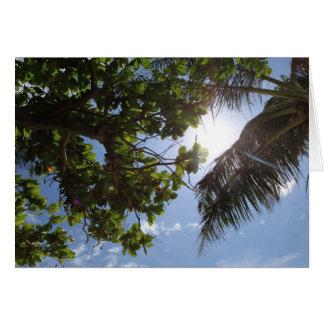 Summer Trees Card
