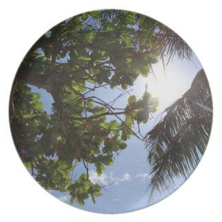 Summer Trees Dinner Plate