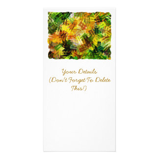 SUMMER TREES PERSONALIZED PHOTO CARD