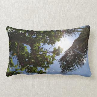 Summer Trees Throw Pillow