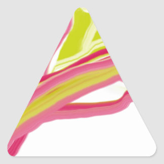 summer triangle sticker