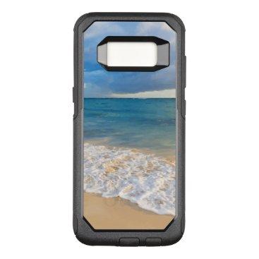 Beach Themed Summer Tropical Beach Scenic OtterBox Commuter Samsung Galaxy S8 Case