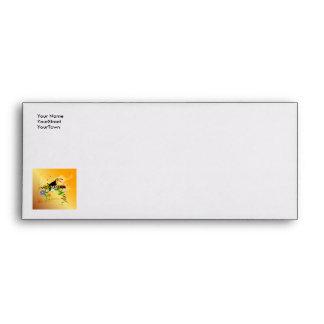 Summer, tropical design envelope
