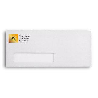 Summer, tropical design envelopes