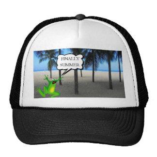 summer trucker hat