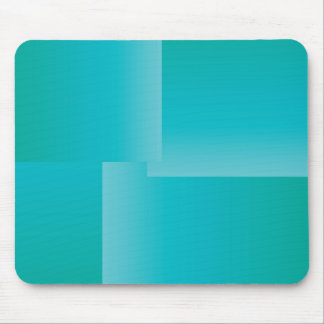 Summer Turquoise Gradient Mouse Pad