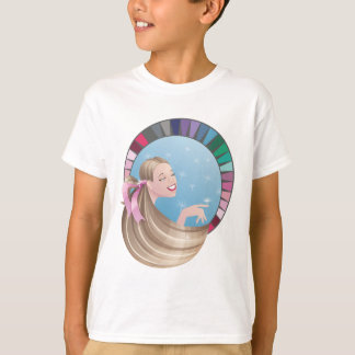 Summer type girl with palette T-Shirt