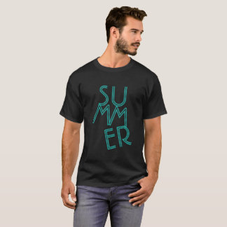 Summer Typography Text TShirt