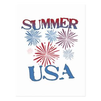 Summer, USA Postcard