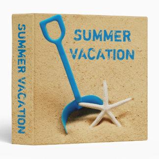 """Summer Vacation 1.5"""" Photo Album Binder"""