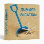 "Summer Vacation 1"" Photo Album 3 Ring Binder"