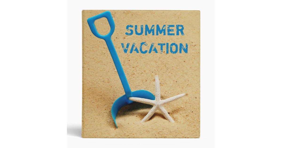 summer vacation 1 u0026quot  photo album 3 ring binder