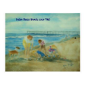 Summer Vacation at Indian Rocks Beach Postcard