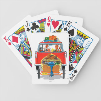 Summer Vacation Bicycle Playing Cards