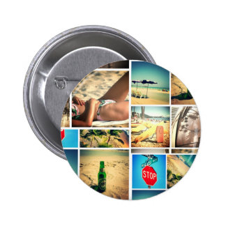 Summer vacation buttons