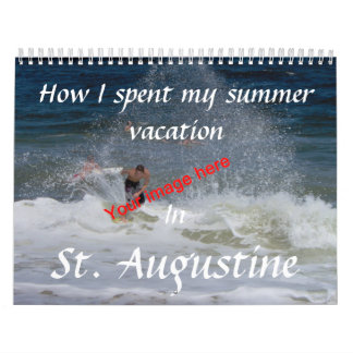 Summer Vacation Calendar